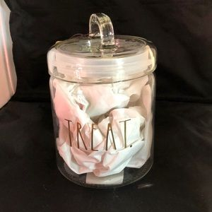Other - Rae Dunn glass container